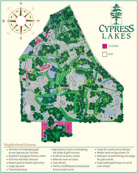 cypress-lakes-sitemap